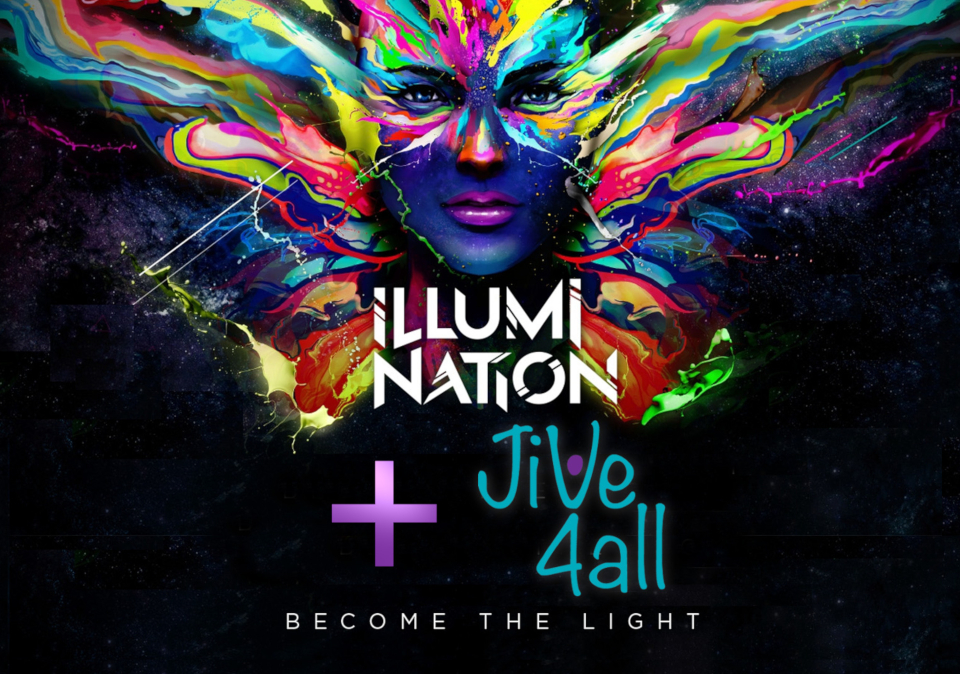 Promotional image for Illumination plus Jive4All freestyle
